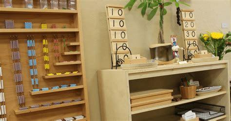 laurens montessori classroom  math area trillium