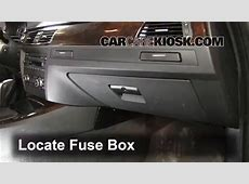 Interior Fuse Box Location 20062013 BMW 335d 2010 BMW