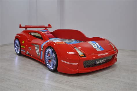 Thunder Race Car Bed In Red in 2020 | Race car bed, Red race, Car