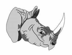 Rhino Vector - Download 15 Silhouettes (Page 1)