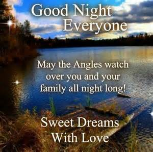 Good Night Everyone Quotes