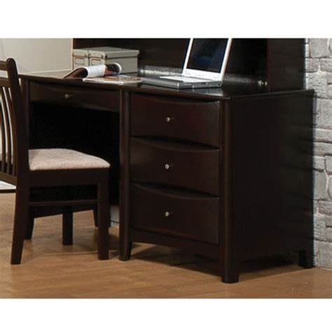 youth desk with hutch phoenix single pedestal youth computer desk with hutch