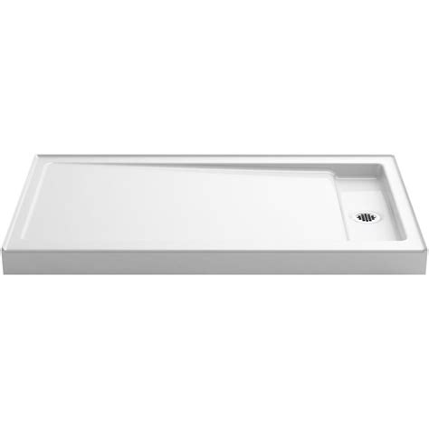 kohler cast iron shower base kohler bellwether 60 in x 34 in single threshold shower 8813