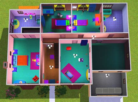 plan maison 4 chambres 騁age plan maison sims 2 studio design gallery best design