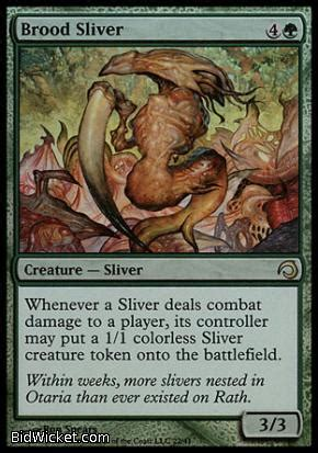 magic the gathering sliver deck mtgisland canada s source for magic the gathering