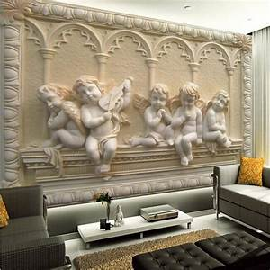 Wholesale Removable 3d Wall Murals Wallpaper With Jade ...