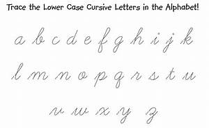 Printables. Small Letter Alphabet Hand Writing. Kigose ...