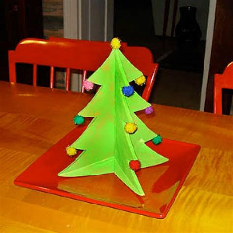 christmas table centerpiece craft  kids parenting