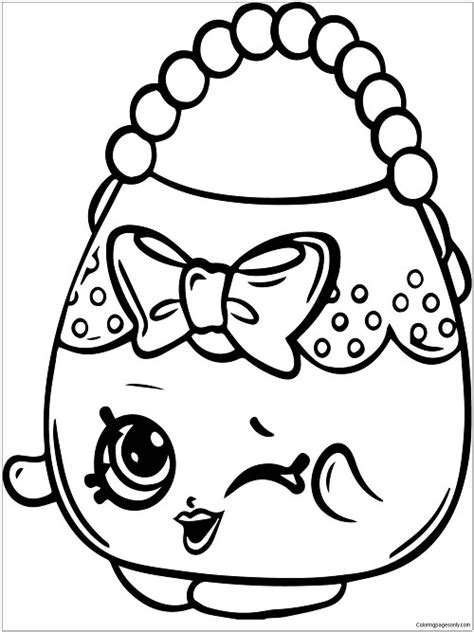Shopkins Coloring Pages by coloringpagesonly Fan Art