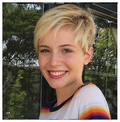Pixie Round Haircut Straight Face Short Thick