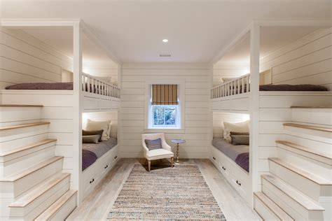 designer bunk beds 高端卧室实木上下床图片 土巴兔装修效果图
