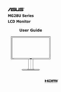 Mg28u Series Lcd Monitor User Guide