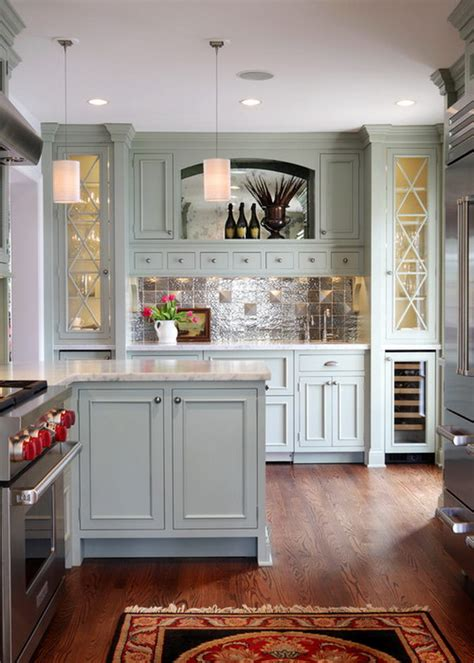 grey green kitchens 80 cool kitchen cabinet paint color ideas 1492