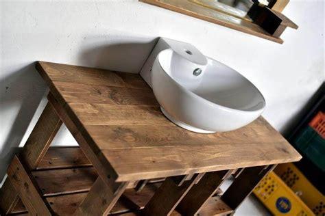 Pallets Wood Bathroom Mirror And Vanity  99 Pallets