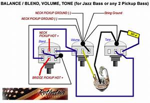 1960 Jazz Bass Wiring Diagram