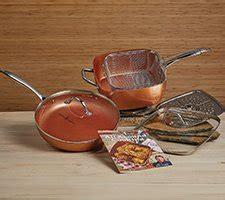 copper chef  piece cookware set sams club