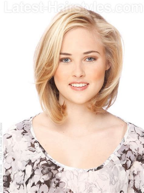 hairstyles  thin medium length hair