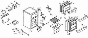 Danby Refrigerator Cabinet Parts