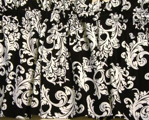 black and white brocade damask classic popular print
