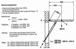 Gasfeder Berechnen : berechnung der federkraft bei gasfedern ~ Themetempest.com Abrechnung