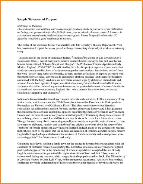 Personal Statement Template Personal Statement Sle Graduate School