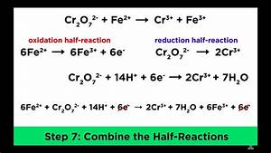 Balancing Redox Reactions In Acidic And Basic Conditions