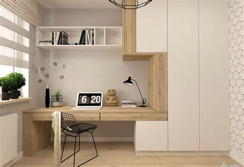37 Minimalist Home Offices That Sport Simple But Stylish