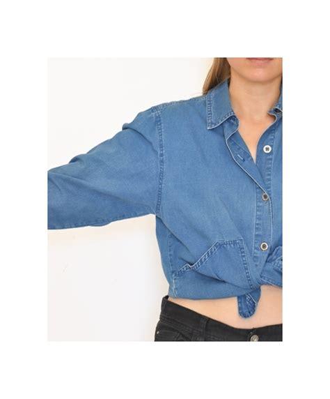 chemise en jean courte terre de marins