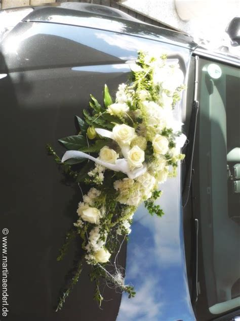 blumenschmuck hochzeit auto floristik enderl service