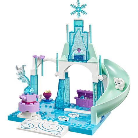 lego juniors disney princess lego and elsa 39 s frozen playground set 10736 brick