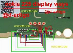 Nokia 225 White Display Problem Solution Full Jumper Diagram