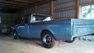 67 Chevy C10 Shop Truck Patina Paint Tubbed