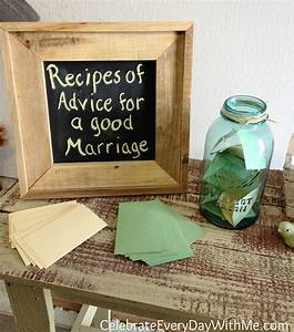 Country bridal shower ideas celebrate every day with me for Country wedding shower ideas