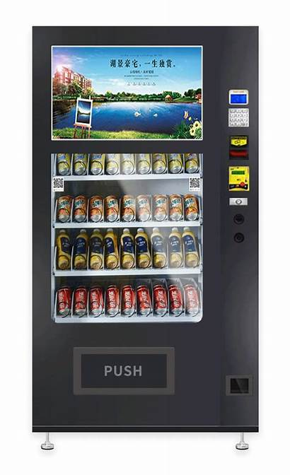 Vending Machines Custom Centigrade Touchscreen Cooling Inches