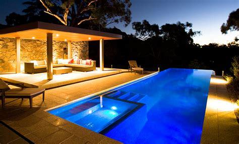 poolside dining  style pool ideas freedom pools  spas
