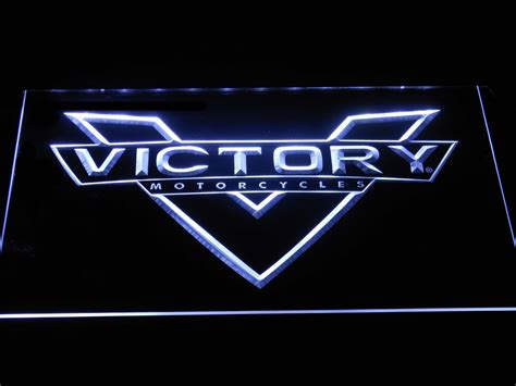 Victory Motorcycles Led Neon Sign
