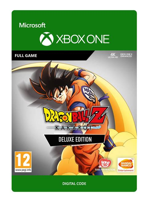 Dragon Ball Z Kakarot Deluxe Edition Xbox One Game