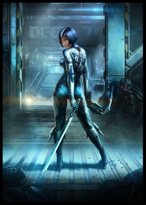 The Explosive Sci-Fi Art of Maxim | Digital Artist