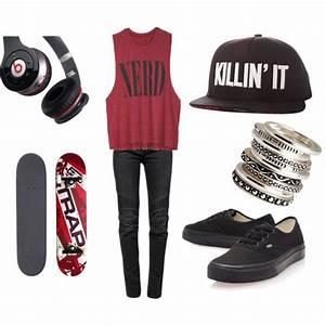 Skater Girl Outfits on Pinterest   Skater Outfits, Skater ...