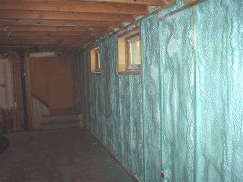 Inspiring Best Insulation For Basement #5 Foam Insulation