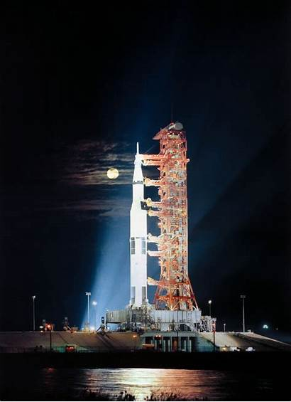 Launch Apollo Nasa Moon Saturn Rocket Rollout