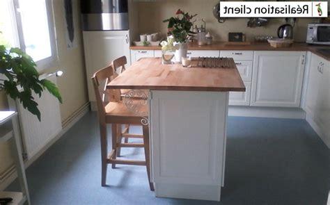 ot central de cuisine plan de travail pour ilot central decoration cuisine