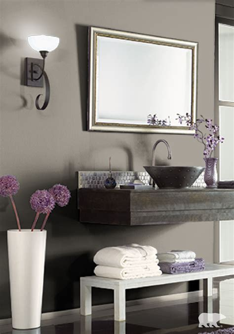Purple Paint Colors For Bathrooms by Stay On Trend This Season By Coating The Walls Of Your
