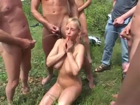 Outdoor Group Piss And Sex Fun Video 2