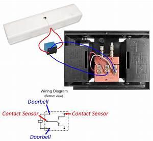 Adding A Contact Sensor To A Doorbell