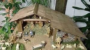 Weihnachtskrippe Holz Selber Bauen : weihnachtskrippe selbstbau hd youtube ~ Buech-reservation.com Haus und Dekorationen