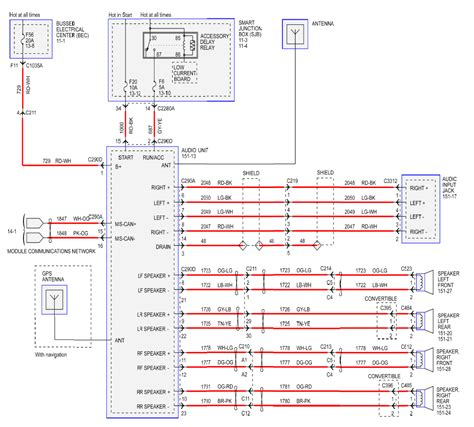 Radio Wiring Diagram For Ford Mustang Forum
