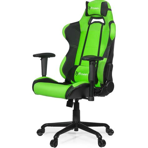 arozzi gaming chair arozzi torretta gaming chair green 177593 b h photo