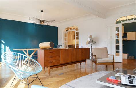 bureau contemporain bois design nordique séjour déco