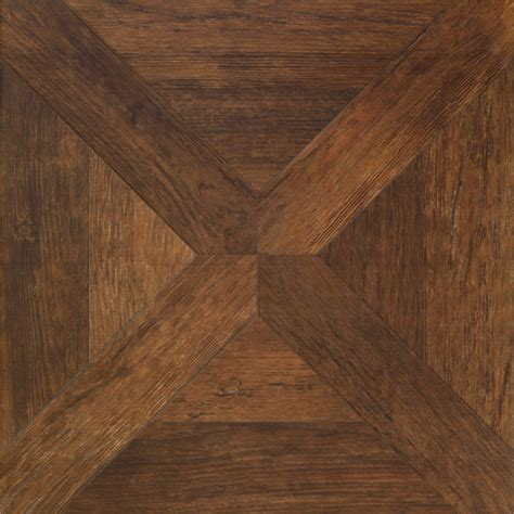 vintage parquet wood look tile flooring traditional